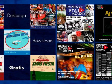 GRAB your Summer's Cuban, Latin, tropical music MEGA DJ-mixes bundle. Shake your body!