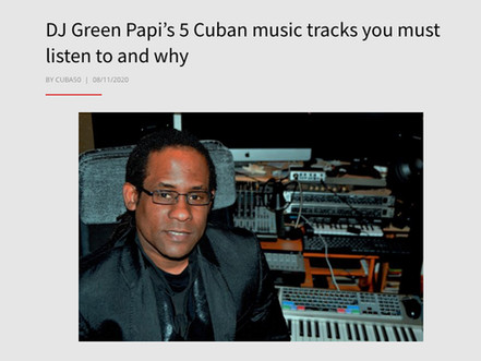 Cuban music songs you must listen and why.
