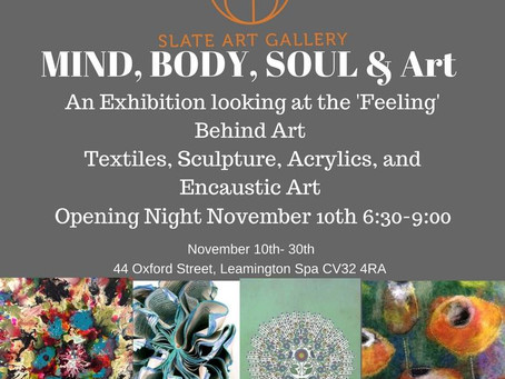 Mind, Body, Soul and Art Opening Night!