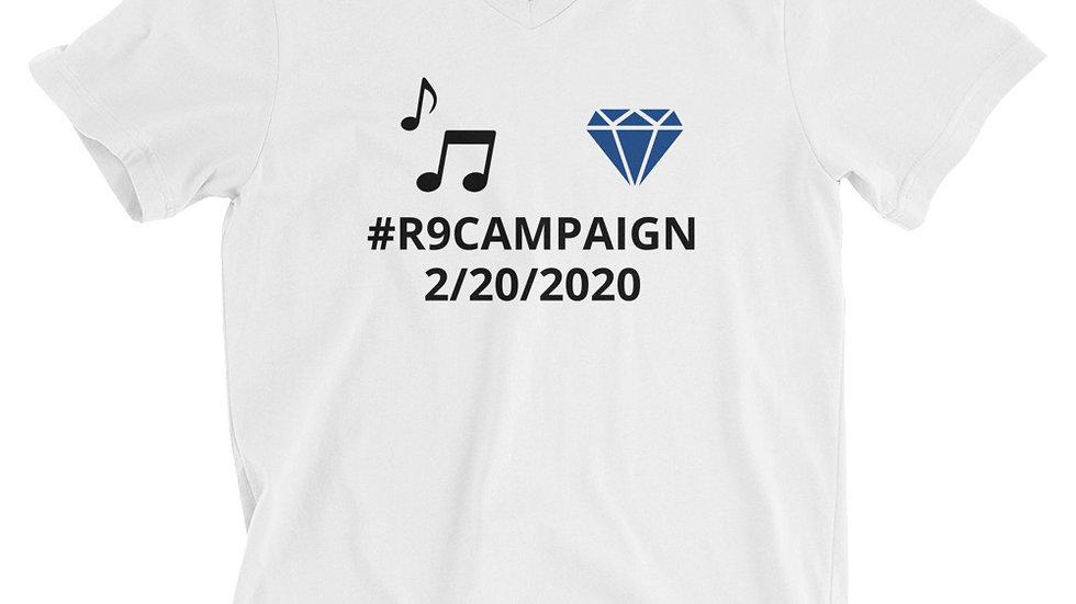 Unisex Short Sleeve V-Neck T-Shirt -KenYUCK #R9campaign 2/20/2020