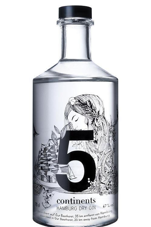 5 Continents Gin Hamburg Dry Gin  - Organic -