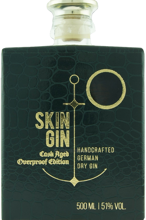 SKIN GIN Cask Aged Overproof Edition