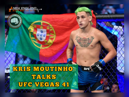 Kris Moutinho Talks About his Dreams Coming True & Fighting on 10/23