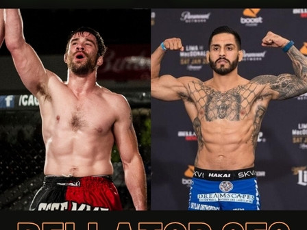 """""""Cupcakes"""" Campbell steps up to take on Henry Corrales at Bellator 258"""
