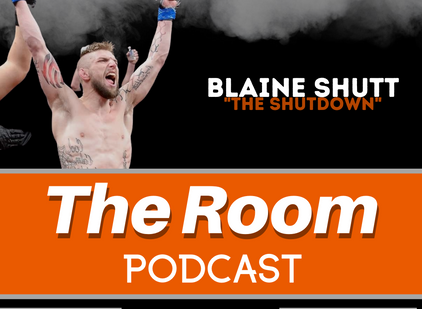 "The Room Podcast: Blaine ""The Shutdown"" Shutt"