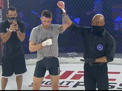Pagliarulo Beats the Brakes off of Stefanelli at CFFC 92