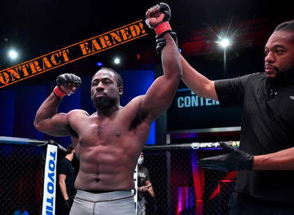 William Knight Secures UFC Contract with HUGE Win