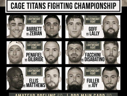 Cage Titans 48: Live Play-By-Play Results