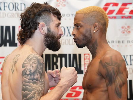 BREAKING: Paiva vs. Smith now 5 Round Title Fight at CES 62