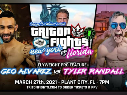"""Tyler """"Rookie"""" Randall makes his pro debut at Triton Fights 18"""