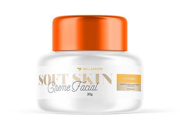 Creme de Potinho Facial Vitamina C