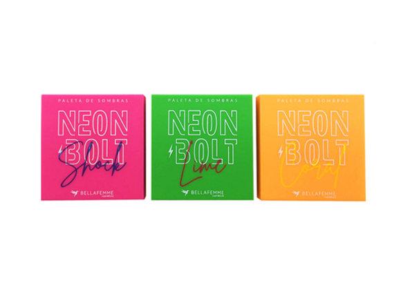 Paletas de Sombras Neon Bolt