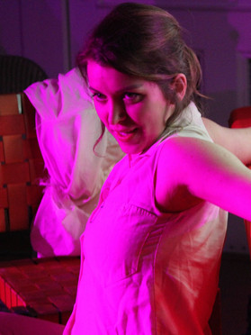Carla Costabile as Maria. Photo credit George Riveron