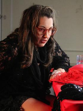 Valeria Llaneza as Sra. Slowsky. Photo credit George Riveron