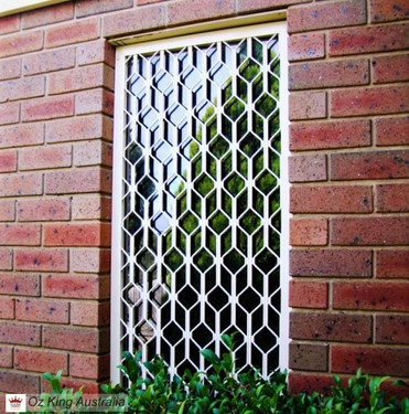 1. Security Window Grille
