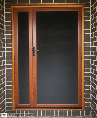 7. Security Door and Side Lite