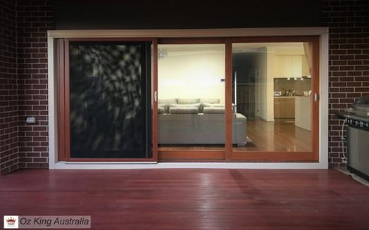 9. Sliding Stacker Doors and Panel