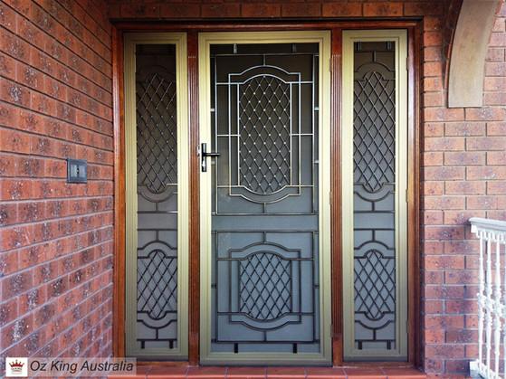 8. Security Door and Side Lites