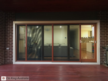 10. Sliding Stacker Doors and Panel