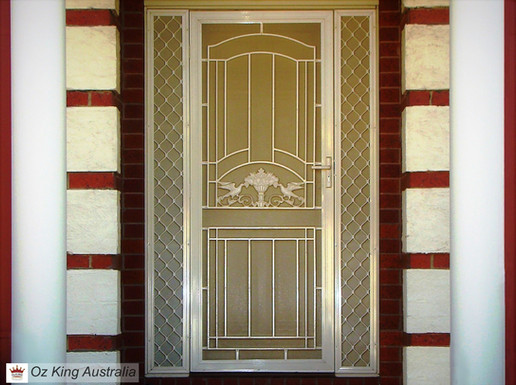 19. Security Door and Side Lites