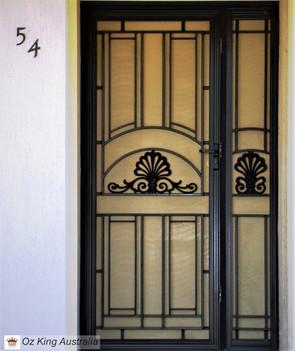 26. Security Door and Side Lite
