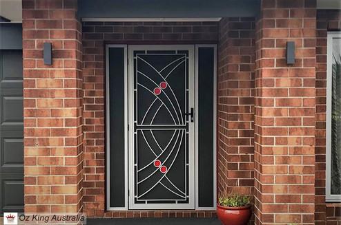 12. Security Door and Side Lites