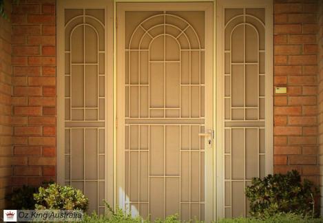 27. Security Door and Side Lites