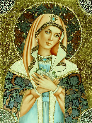 Our Lady of white Rosas    RE41