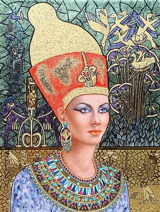Cleopatra Red Cap