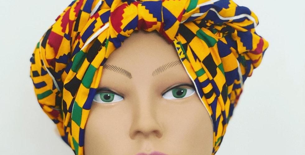 Rosa Headwrap- Kente 2