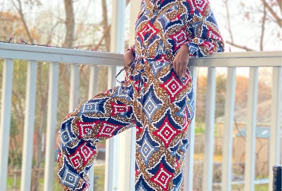 Sheila Fleece Lined Jumpsuit