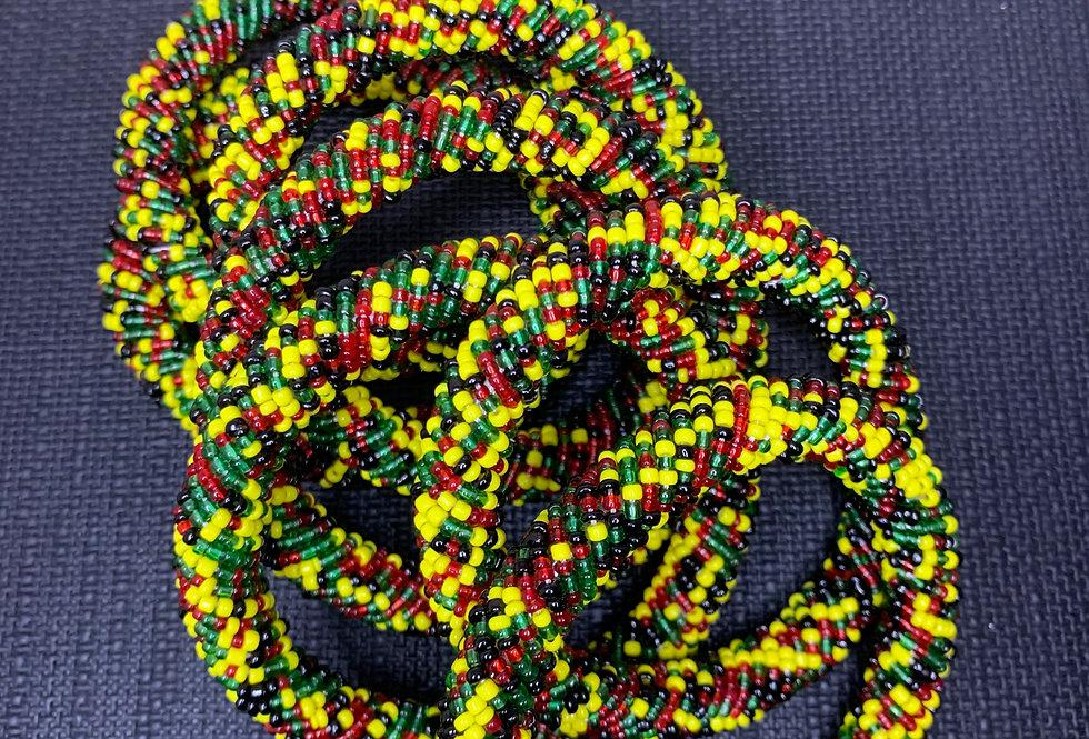Handmade Maasai Bracelet-One Love