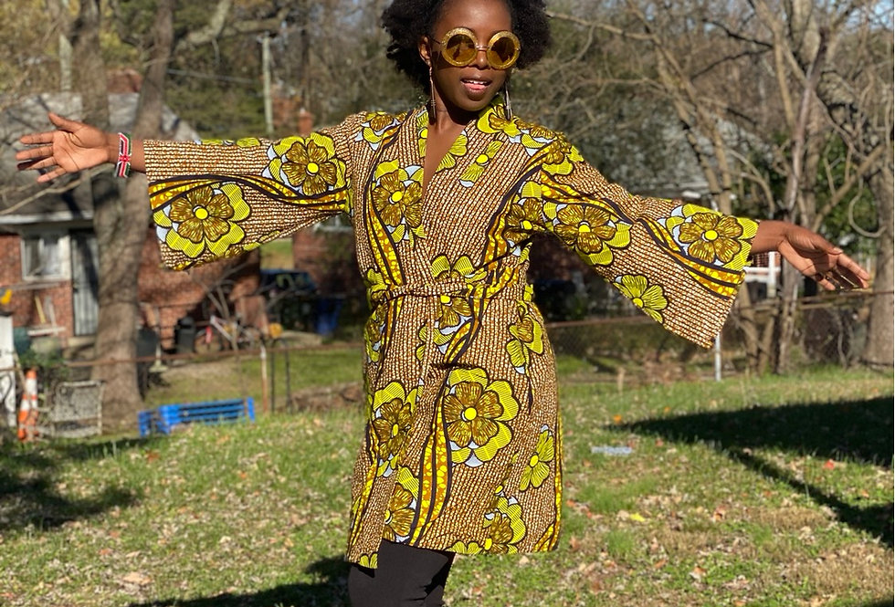 Ciku Kimono Style Duster