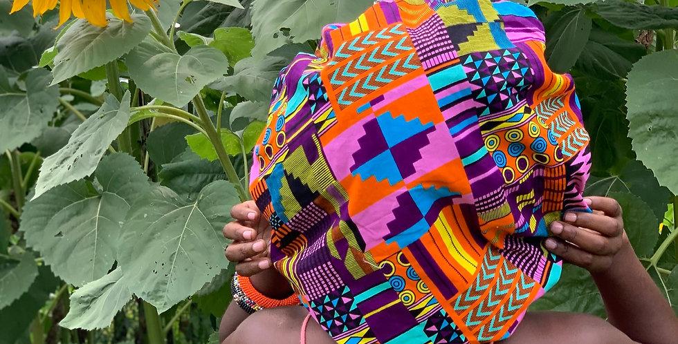 Ngechi African Print Bonnets