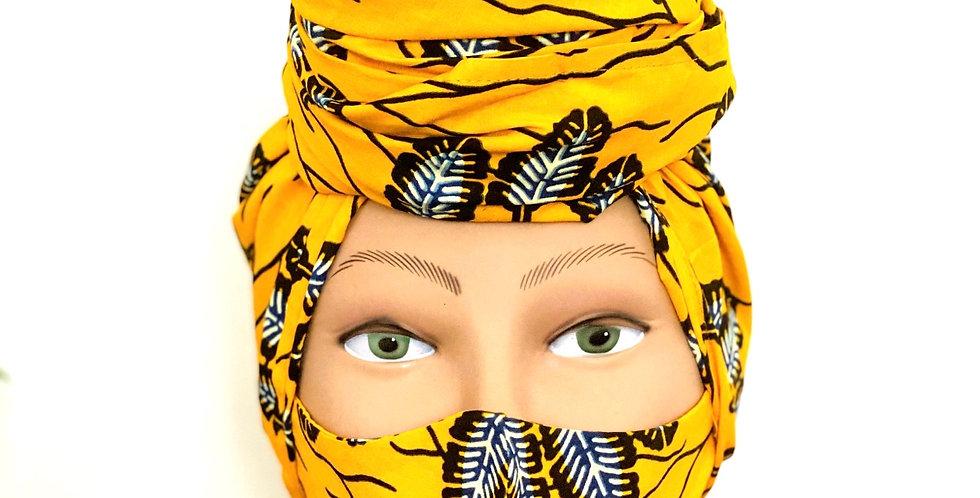 Rosa Headwraps- Majani