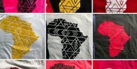 Bagwasi Africa Map Tshirt- XiV Brand