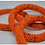 Thumbnail: Handmade Maasai Bracelet-Orange/Gold