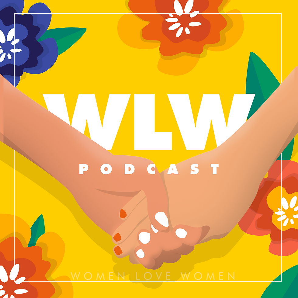 WLW Women Love Women PODCAST is a lesbian podcast written and produced by a lesbian author