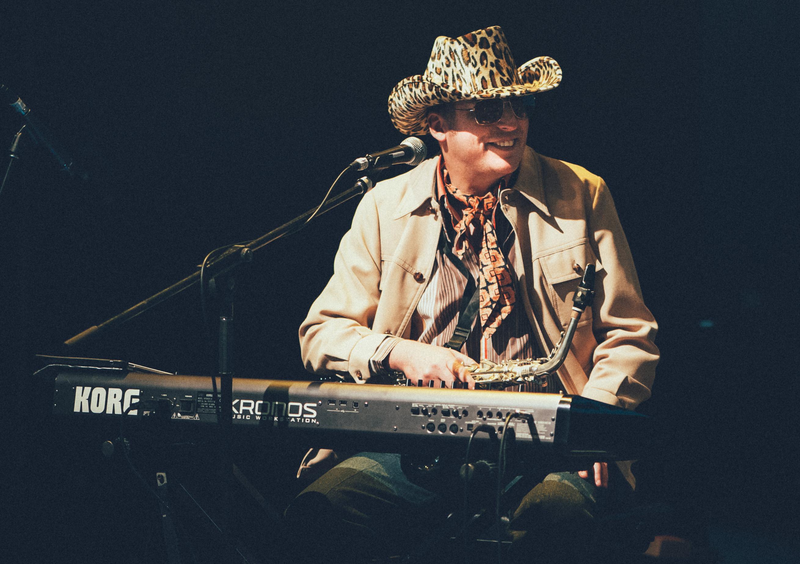 Blind Gee on Keys & Sax