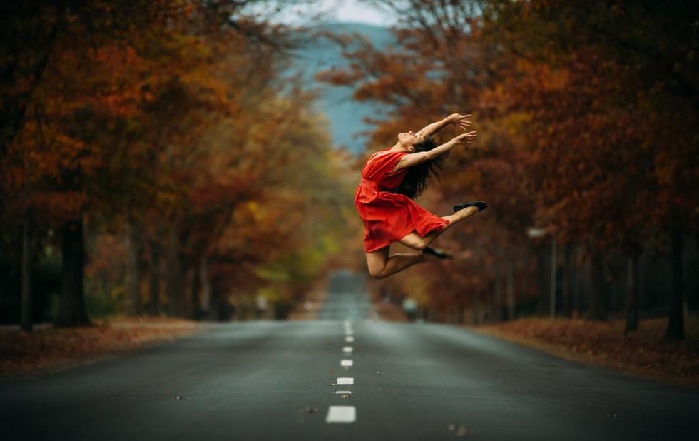 Autumn Leap