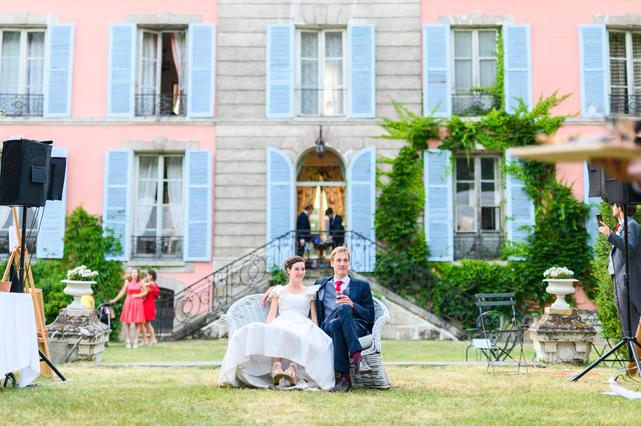 Le Coudray-Montceaux, Lieu de réception