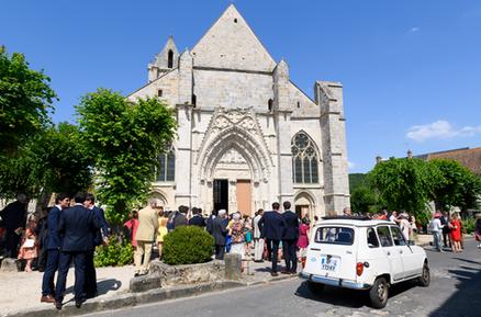 Le Coudray-Montceaux, Cérémonie civile