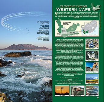 Introduction to the 56 page Western Cape chapter