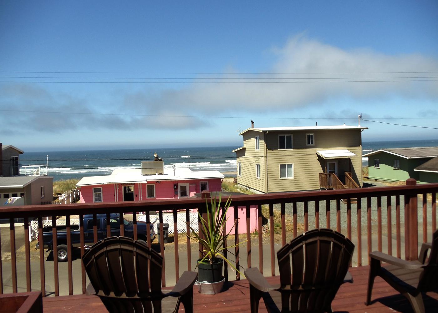 Corona Heights Ocean View Deck