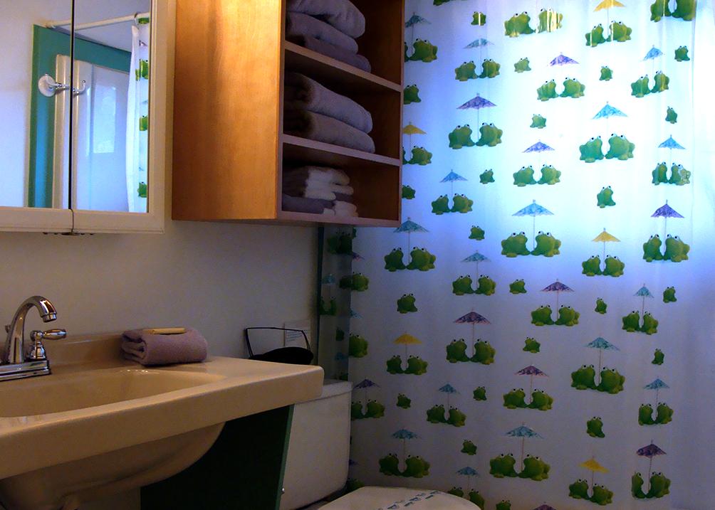 Lily Pad Bathroom