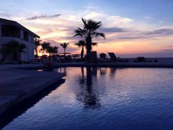Sunset in La Playa Paradise