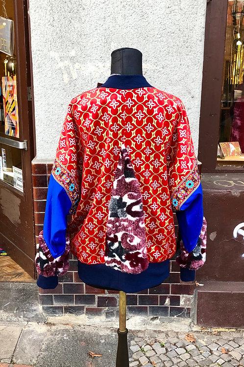 Upcycled Unisex Oriental Style Jacket