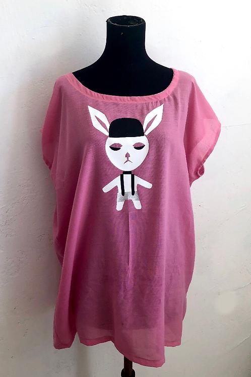Pink Gangster Rabbit