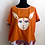 Thumbnail: Orange White Rabbit Shirt