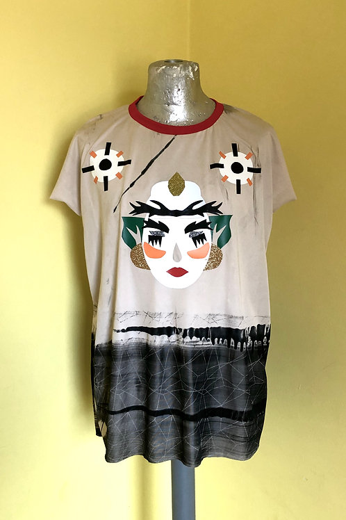 Green Haired Lady Shirt